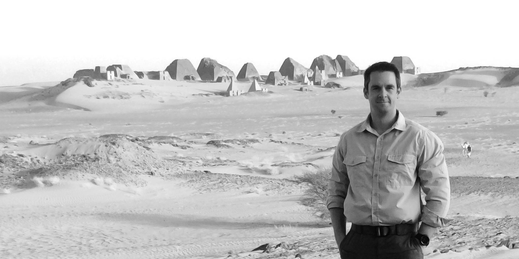 David Love - Pyramids Meroe Sudan ©LoveAdventures